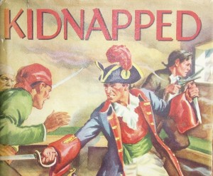 Kidnapped illustration of fight